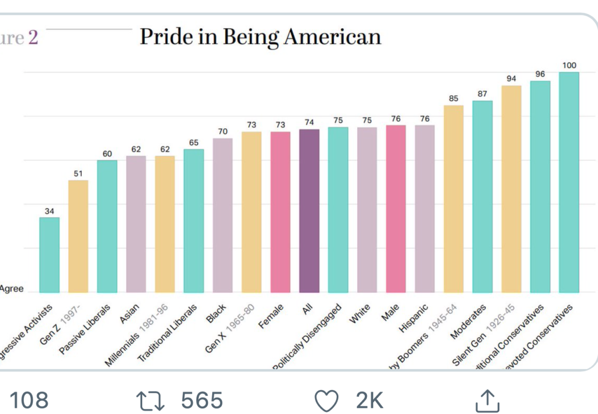 Who's Proud To Be An American?