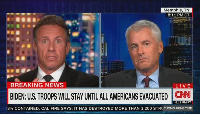 CNN Analyst Argues AGAINST Rescuing Americans Outside Kabul Airport