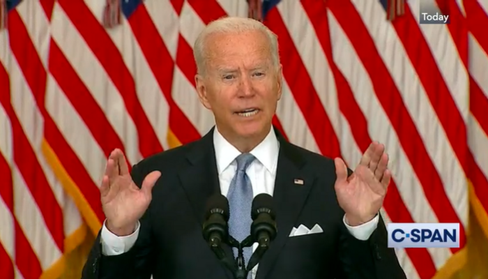 Column: Cowardly Biden Hides From the Press on Afghanistan