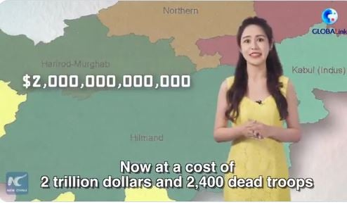 China News Taunts United States for Afghanistan Failure — Mocks Afghans Falling from Planes (VIDEO)