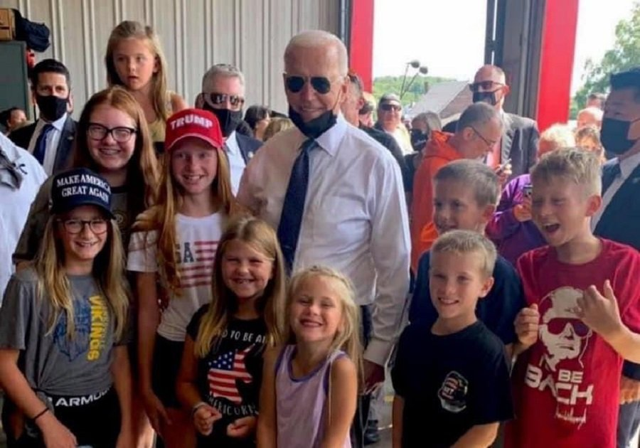 Trump Issues Statement Trolling the Heck Out of Biden — 'These Kids Tricked Biden Just Like the Taliban Did!'
