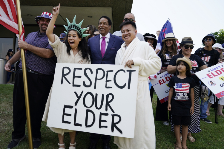 Why a Lifelong Democrat Is Supporting Larry Elder for Gov