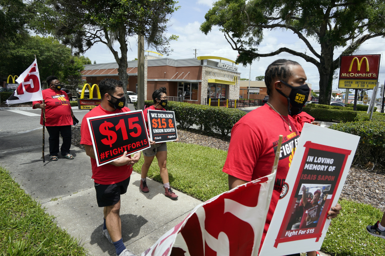Inflation Has Turned $15 an Hour Wages Into a Setback