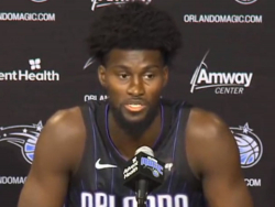 NBA Player Jonathan Isaac: I Didn't Come To My Current Vaccination Status By Studying Black History Or Watching Donald Trump | Video