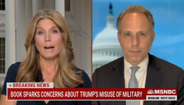 MSNBC's Nicolle Wallace Whines: 'Delusional America' Calls for Firing Milley