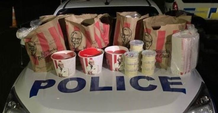 Two Men Arrested for Smuggling Buckets of KFC Chicken and All the Fixings into Auckland Despite Strict COVID Lockdown