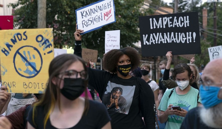Kavanaugh protesters violate federal law