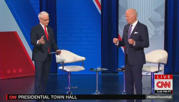 CNN Treats Biden to Another Clownish Pep Rally Littered With Watered-Down Softballs