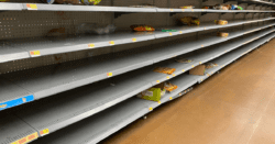 #emptyshelvesJoe believes empty shelves are a sign of a strong economy