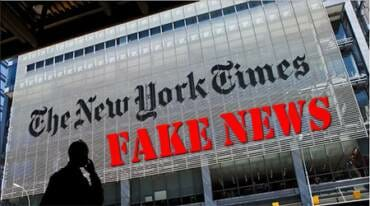 WOW! Fake News Giant NY Times Added 800,000 to Total of Children Hospitalized with Coronavirus